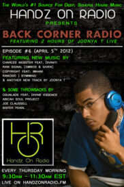 BACK CORNER RADIO [EPISODE #06] #ThrowBackThursday [APRIL 5. 2012]