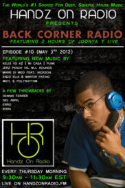 BACK CORNER RADIO [EPISODE #10] #ThrowBackThursday [MAY 3. 2012]