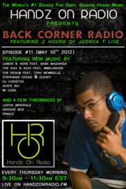 BACK CORNER RADIO [EPISODE #11] #ThrowBackThursday [MAY 10. 2012]