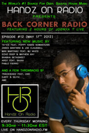 BACK CORNER RADIO [EPISODE #12] #ThrowBackThursday [MAY 17. 2012]