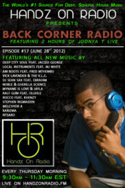 BACK CORNER RADIO [EPISODE #17] JUNE 28. 2012