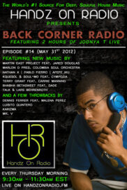 BACK CORNER RADIO [EPISODE #14] #ThrowBackThursday [MAY 31. 2012]