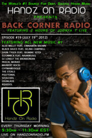 BACK CORNER RADIO [EPISODE #19] JULY 19. 2012