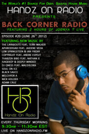 BACK CORNER RADIO [EPISODE #20] JULY 26. 2012
