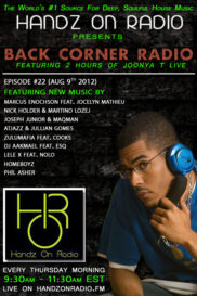 BACK CORNER RADIO  [EPISODE #22] AUG 9. 2012