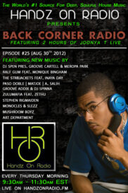 BACK CORNER RADIO [EPISODE #25] AUG 30. 2012