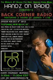 BACK CORNER RADIO [EPISODE #30] OCT 4. 2012