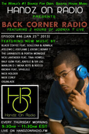 BACK CORNER RADIO [EPISODE #46] JAN 24. 2013