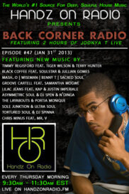 BACK CORNER RADIO [EPISODE #47] JAN 31. 2013