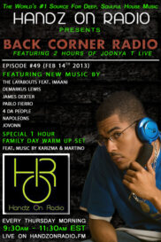 BACK CORNER RADIO [EPISODE #49] FEB 14. 2013 (FAMILY DAY EDITION)