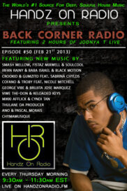 BACK CORNER RADIO [EPISODE #50] FEB 21. 2013
