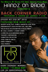 BACK CORNER RADIO [EPISODE #51] FEB 28. 2013