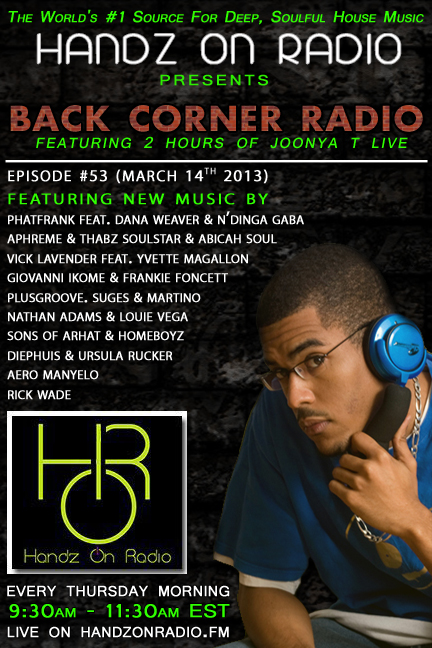 HANDZ ON RADIO 2013 EPISODE 53