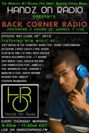 BACK CORNER RADIO [EPISODE #67] JUNE 20. 2013