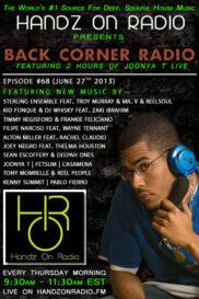 BACK CORNER RADIO [EPISODE #68] JUNE 27. 2013