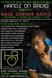 BACK CORNER RADIO [EPISODE #69] JULY 4. 2013