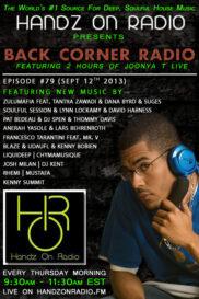 BACK CORNER RADIO [EPISODE #79] SEPT 12. 2013