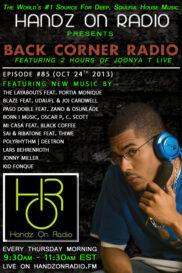 BACK CORNER RADIO [EPISODE #85] OCT 24. 2013