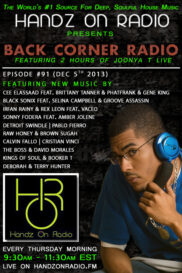 BACK CORNER RADIO [EPISODE #91] DEC 5. 2013