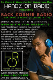 BACK CORNER RADIO [EPISODE #93] DEC 19. 2013 (2013 RECAP PART 1)