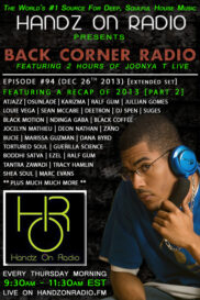 BACK CORNER RADIO [EPISODE #94] DEC 26. 2013 (2013 RECAP PART 2)