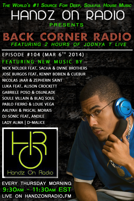 HANDZ ON RADIO 2013 EPISODE 104