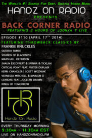 BACK CORNER RADIO [EPISODE #110] #ThrowBackThursday [APRIL 17. 2014]