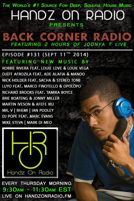 HANDZ ON RADIO 2014 EPISODE 131