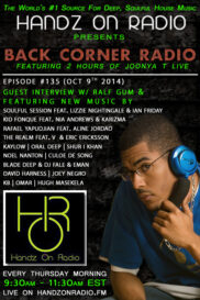 BACK CORNER RADIO [EPISODE #135] w/ RALF GUM [OCT 9. 2014]