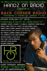 BACK CORNER RADIO [EPISODE #146] DEC 25. 2014 (2014 RECAP PART 1)