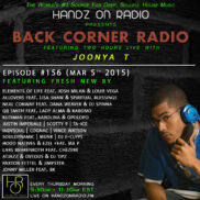 BACK CORNER RADIO [EPISODE #156] MARCH 5. 2015 (3YR ANNIVERSARY)