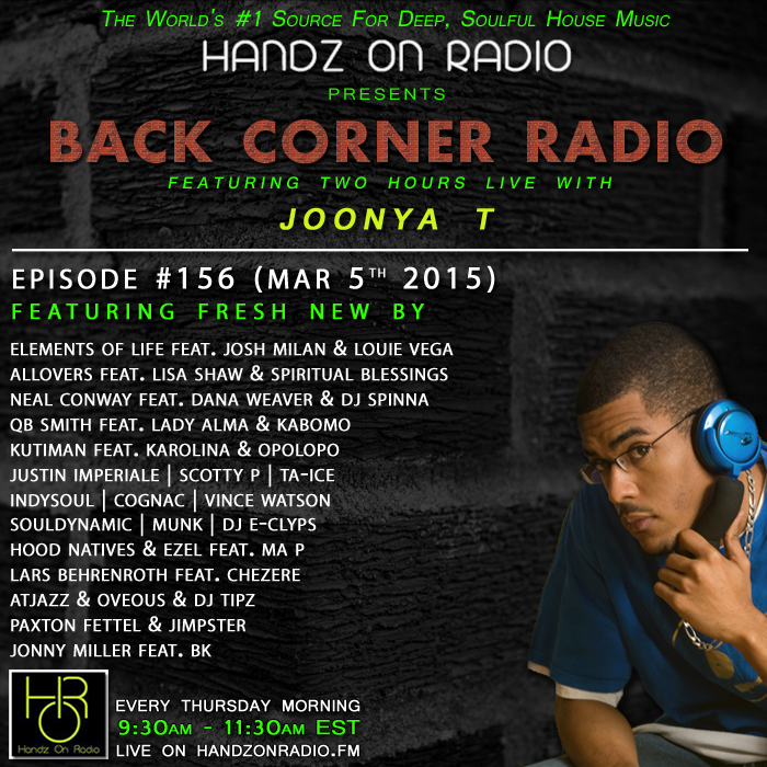 HANDZ ON RADIO 2015 EPISODE 156