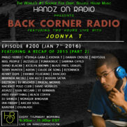 BACK CORNER RADIO [EPISODE #200] JAN 7. 2016 (2015 RECAP PART 2)