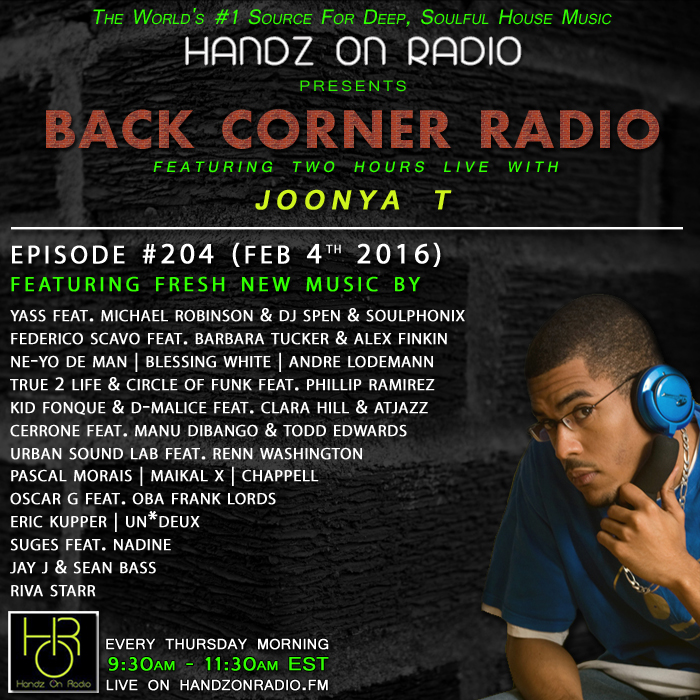 HANDZ ON RADIO 2016 EPISODE 204