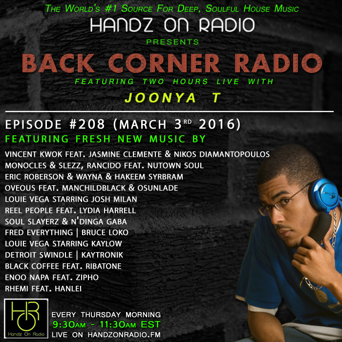 HANDZ ON RADIO 2016 EPISODE 208