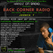 BACK CORNER RADIO [EPISODE #220] #ThrowBackThursday [MAY 26. 2016]