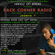 BACK CORNER RADIO [EPISODE #250] DEC 22. 2016 (2016 RECAP PART 1)