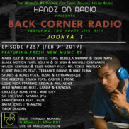 BACK CORNER RADIO [EPISODE #257] FEB 9. 2017