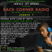 BACK CORNER RADIO [EPISODE #274] JUNE 8. 2017