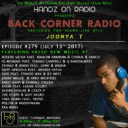 BACK CORNER RADIO [EPISODE #279] JULY 13. 2017