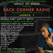 BACK CORNER RADIO [EPISODE #287] SEPT 7. 2017