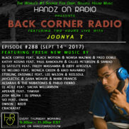 BACK CORNER RADIO [EPISODE #288] SEPT 14. 2017