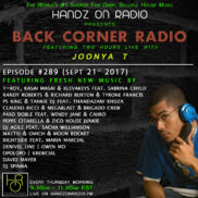 BACK CORNER RADIO [EPISODE #289] SEPT 21. 2017