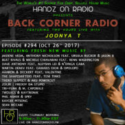 BACK CORNER RADIO [EPISODE #294] OCT 26. 2017